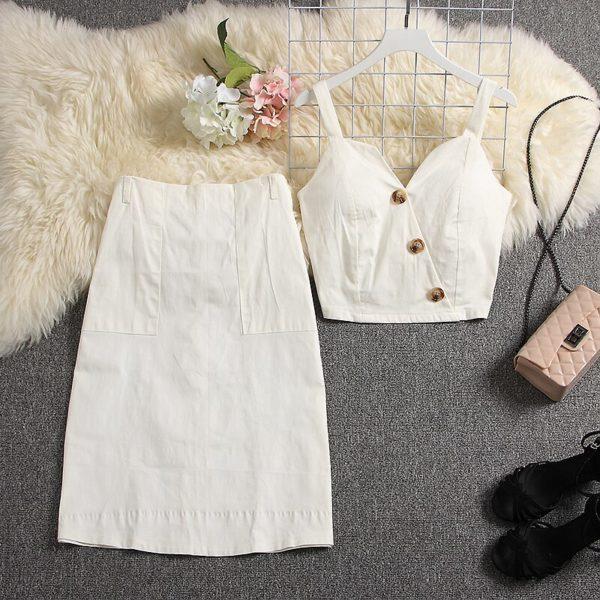 ALPHALMODA-2019-Summer-Padded-Button-Jacket-A-line-Pocket-Skirt-Women-2pcs-Fashion-Suit-Knee-Length-1.jpg
